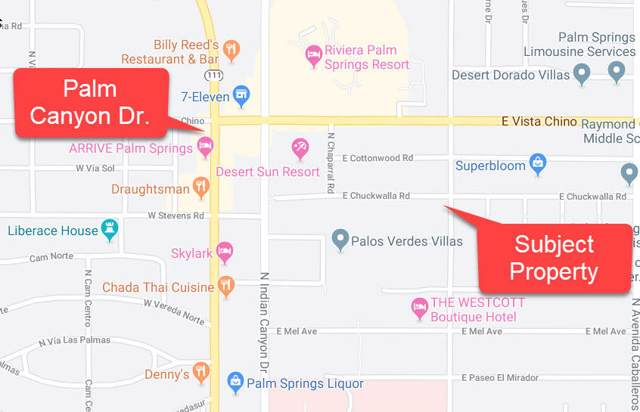 511 E Chuckwalla Road, Palm Springs, CA 92262 (#219036872) :: The Pratt Group