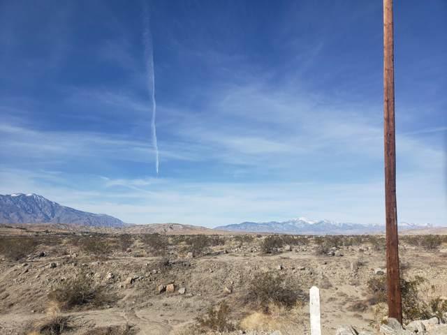 0 Larsen Lane, Sky Valley, CA 92241 (#219037255) :: The Pratt Group