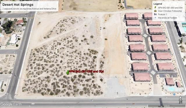 0 N Verbena Street, Desert Hot Springs, CA 92240 (#219038731) :: The Pratt Group