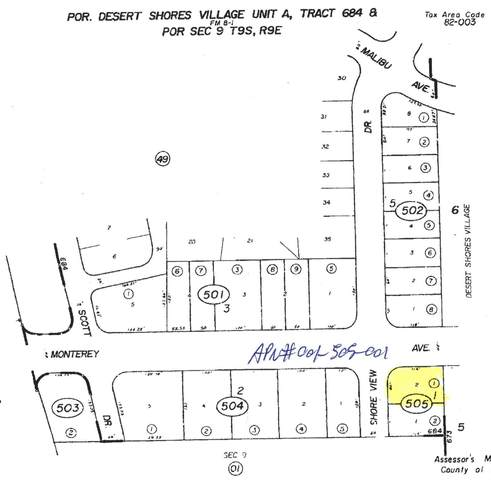 3764 Shore View Drive, Desert Shores, CA 92274 (MLS #219038849) :: Mark Wise | Bennion Deville Homes