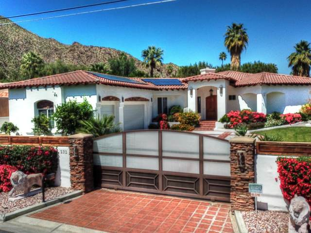 232 W Overlook Road, Palm Springs, CA 92264 (MLS #219041494) :: The Sandi Phillips Team