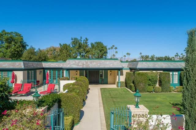 47080 W Eldorado Drive, Indian Wells, CA 92210 (MLS #219043806) :: The Jelmberg Team