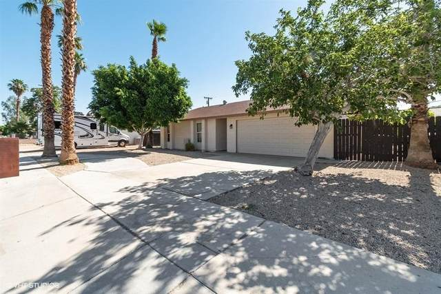 31620 San Eljay Avenue, Cathedral City, CA 92234 (MLS #219043944) :: The John Jay Group - Bennion Deville Homes