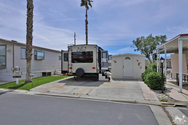 84136 Avenue 44 #74 #74, Indio, CA 92203 (MLS #219044086) :: Brad Schmett Real Estate Group