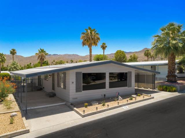 49305 Hwy 74 #78, Palm Desert, CA 92260 (#219045609) :: The Pratt Group