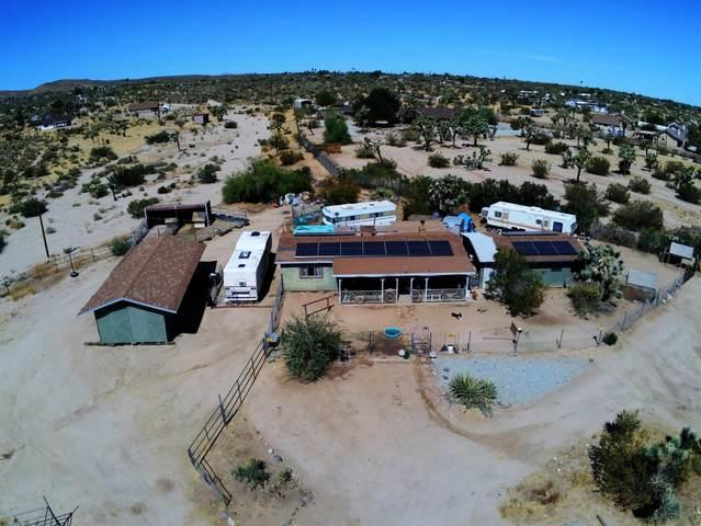 5466 Yucca Mesa Road, Yucca Valley, CA 92284 (MLS #219045753) :: Mark Wise   Bennion Deville Homes