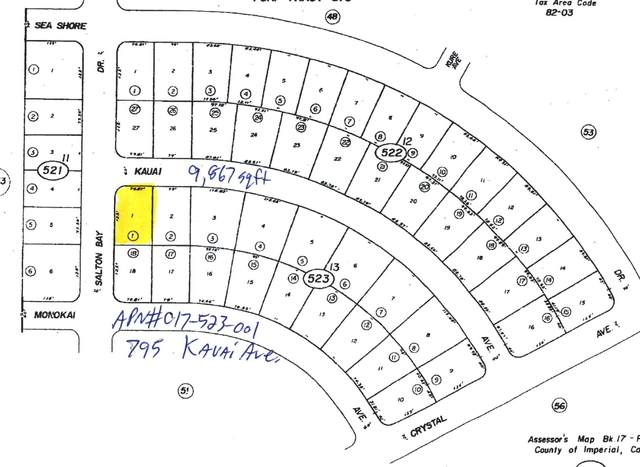 795 Kauai Avenue, Salton City, CA 92275 (MLS #219046054) :: The Sandi Phillips Team