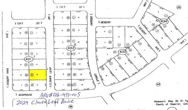 2029 Clover Leaf Drive, Salton City, CA 92275 (MLS #219047553) :: The Sandi Phillips Team