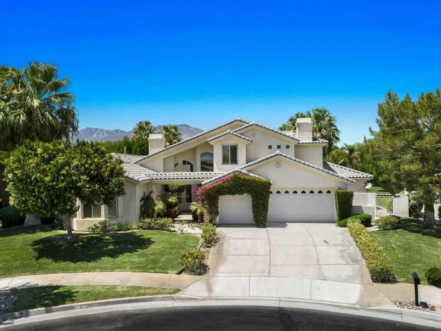 22 Bentley Road, Rancho Mirage, CA 92270 (MLS #219047904) :: The John Jay Group - Bennion Deville Homes