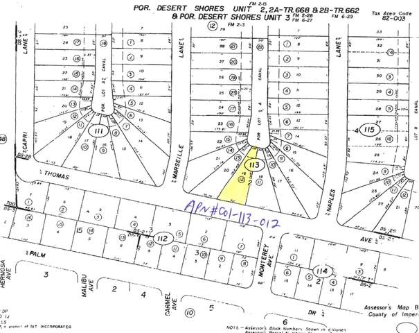 3772 Thomas Avenue, Desert Shores, CA 92274 (MLS #219048541) :: The John Jay Group - Bennion Deville Homes