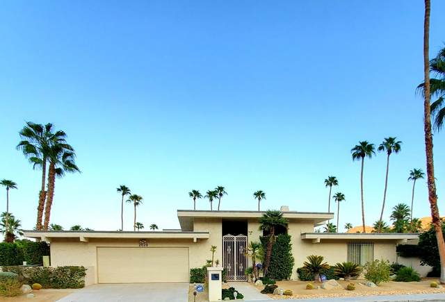 2020 Chico Drive, Palm Springs, CA 92264 (MLS #219050054) :: The Sandi Phillips Team