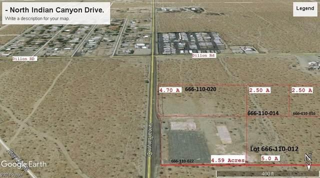 0 N Indina Canyon Drive, Desert Hot Springs, CA 92240 (MLS #219052118) :: Brad Schmett Real Estate Group
