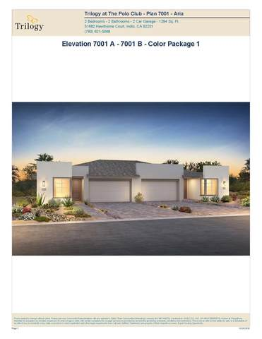 51710 Ponderosa (Lot 7070) Drive, Indio, CA 92201 (MLS #219052197) :: KUD Properties