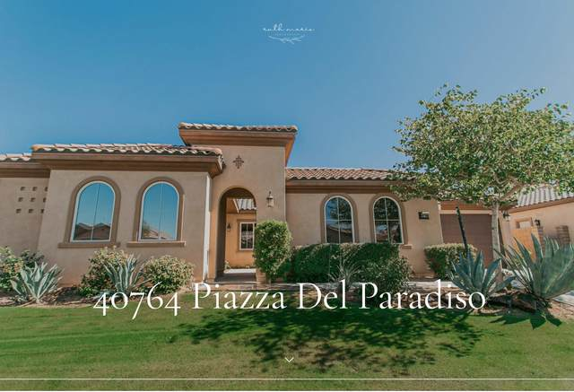 40764 Piazza Del Paradiso, Indio, CA 92203 (MLS #219052340) :: Mark Wise | Bennion Deville Homes
