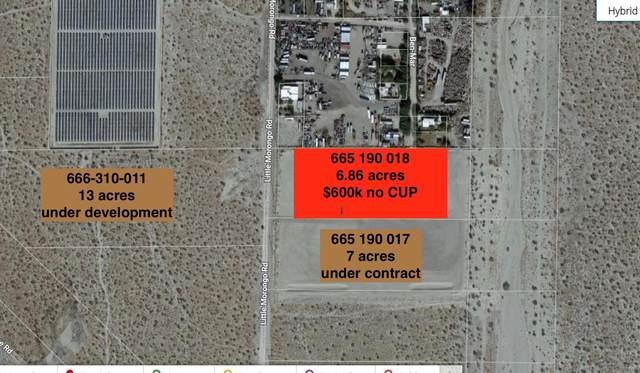 6.86 Acres Little Morongo, Desert Hot Springs, CA 92241 (#219052411) :: The Pratt Group