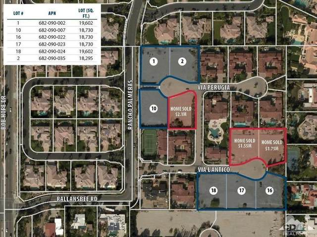 5 Via L'antico, Rancho Mirage, CA 92270 (MLS #219053204) :: The Jelmberg Team