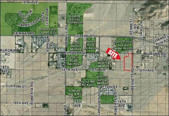 0 W Bennett Rd/S Dillon Rd, Sky Valley, CA 92241 (MLS #219053689) :: KUD Properties
