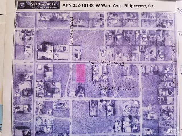 0 W Ward, Ridgecrest, CA 93555 (MLS #219054059) :: The Jelmberg Team