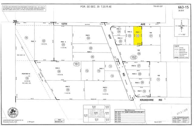 0 13th Avenue, Desert Hot Springs, CA 92240 (MLS #219054065) :: The Jelmberg Team