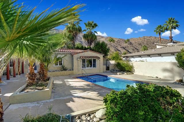 373 S Monte Vista Drive, Palm Springs, CA 92262 (MLS #219055615) :: The John Jay Group - Bennion Deville Homes