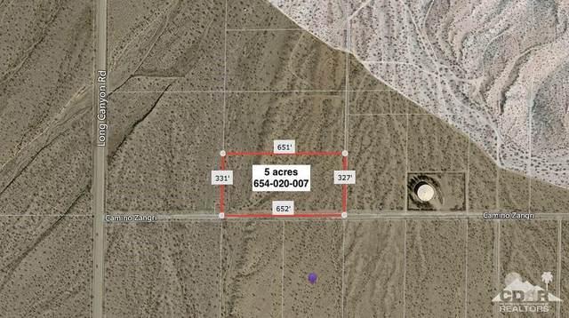 5 Acres Camino Zangri, Desert Hot Springs, CA 92241 (#219056147) :: The Pratt Group