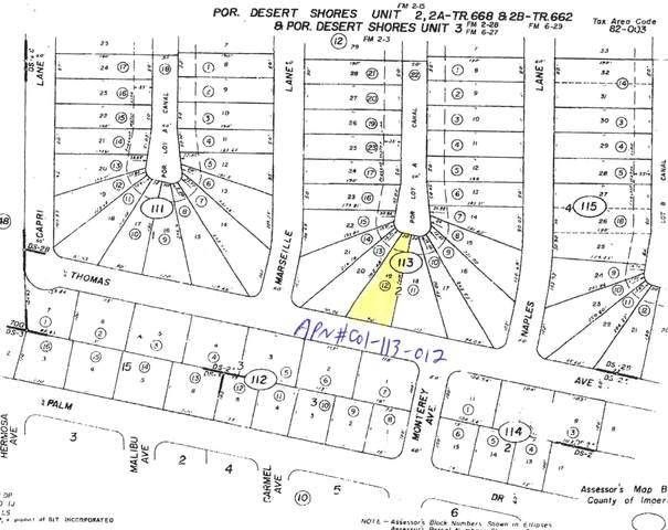 3772 Thomas Avenue, Desert Shores, CA 92274 (MLS #219056225) :: Brad Schmett Real Estate Group