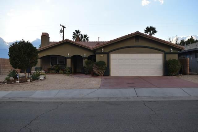 13913 Caliente Drive Drive, Desert Hot Springs, CA 92240 (#219056241) :: The Pratt Group