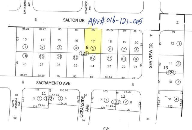 837 Salton Drive, Salton City, CA 92275 (MLS #219056354) :: The Sandi Phillips Team