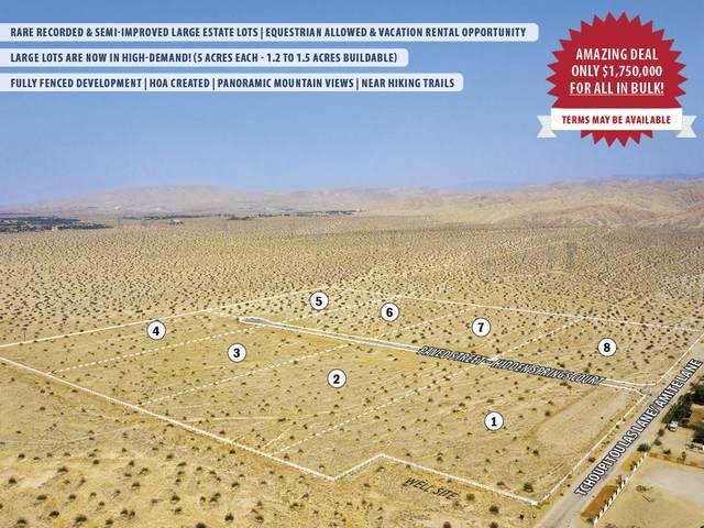 0 Tchoupitoulas Lane, Thousand Palms, CA 92276 (MLS #219056610) :: Hacienda Agency Inc