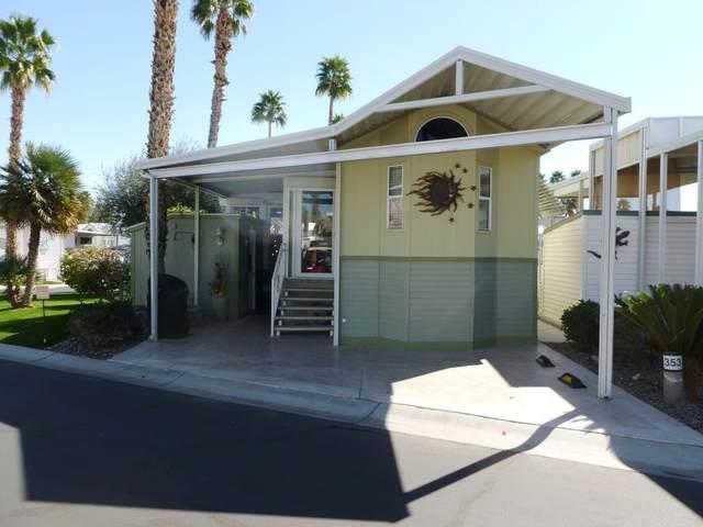 84136 Avenue 44, #353 #353, Indio, CA 92203 (MLS #219057379) :: The John Jay Group - Bennion Deville Homes