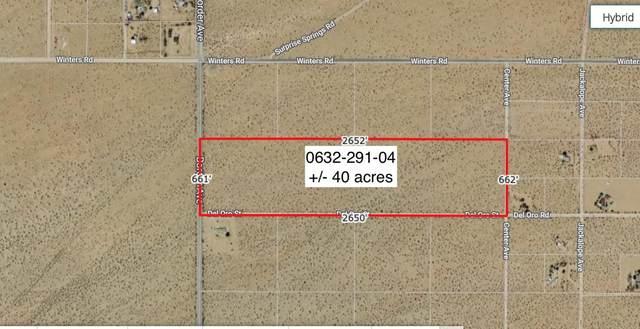 40 Acres Border Near Winters, Joshua Tree, CA 92252 (#219057721) :: The Pratt Group