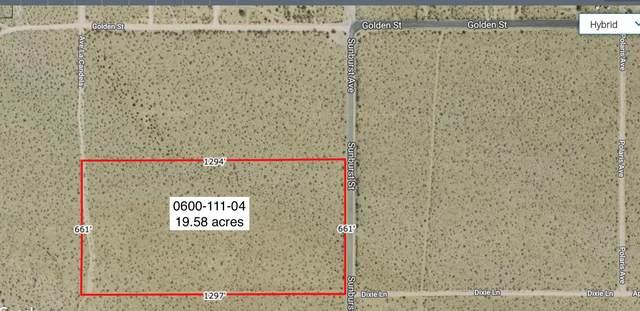 19.58 Acres Sunburst Near Golden, Joshua Tree, CA 92252 (#219057723) :: The Pratt Group
