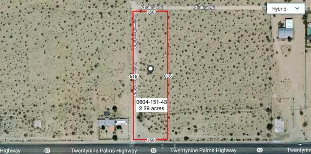 2.29 Acres Highway 62 / Lafernay, Joshua Tree, CA 92252 (MLS #219057724) :: Hacienda Agency Inc