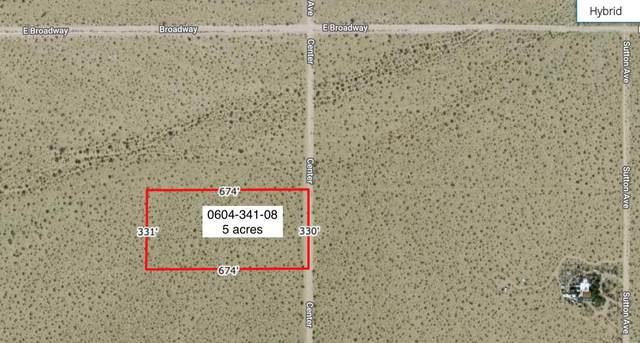 5 Acres On Center Near Broadway Street, Joshua Tree, CA 92252 (#219057867) :: The Pratt Group