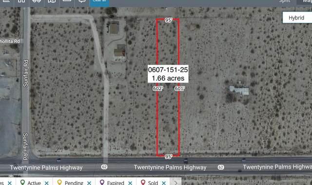 1.66 Acres On Hwy 62 Near Sunfair Road, Joshua Tree, CA 92252 (MLS #219057898) :: Hacienda Agency Inc