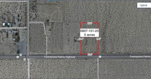 5 Acres On Hwy 62 Near Sunfair Road, Joshua Tree, CA 92252 (MLS #219057929) :: Hacienda Agency Inc