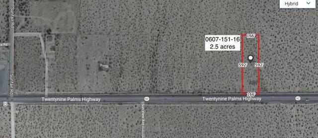 2.5 Acres Hwy 62 East Of Sunfair Road, Joshua Tree, CA 92252 (MLS #219057982) :: Hacienda Agency Inc