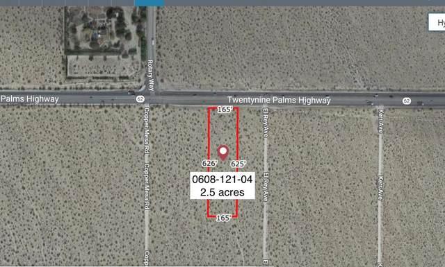 2.36 Acres Hwy 62 E Of Copper Mesa Road, Joshua Tree, CA 92252 (MLS #219057994) :: Brad Schmett Real Estate Group