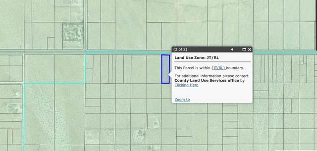 2.5 Acres Hwy 62 Near Robinson Drive, Joshua Tree, CA 92252 (MLS #219058001) :: Brad Schmett Real Estate Group