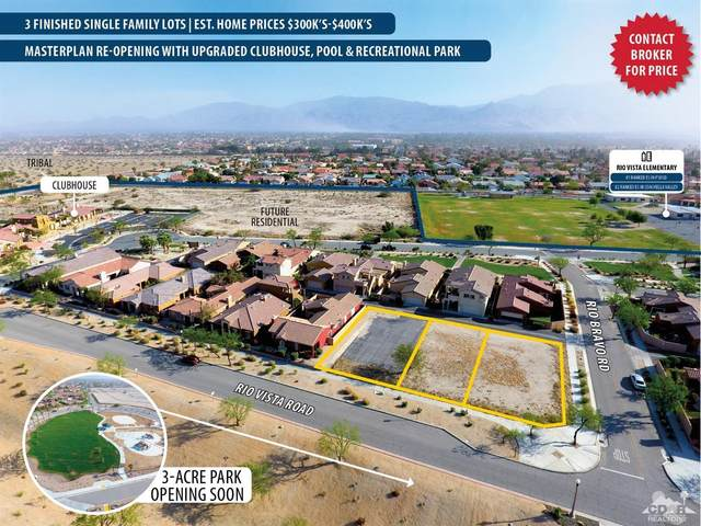0 Rio Vista Road, Cathedral City, CA 92234 (MLS #219060092) :: The John Jay Group - Bennion Deville Homes