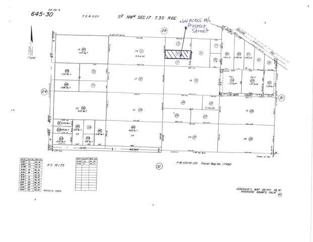 .64 Acres Prospect Street, Desert Hot Springs, CA 92241 (MLS #219060157) :: The Jelmberg Team