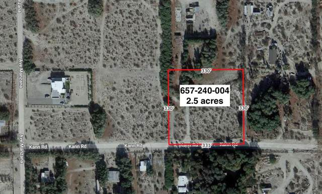 2.5 Acres Kann Rd, Desert Hot Springs, CA 92241 (#219060809) :: The Pratt Group