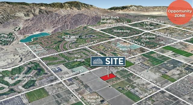 0 N Ave 57 & E Monroe St, La Quinta, CA 92253 (MLS #219061323) :: The John Jay Group - Bennion Deville Homes