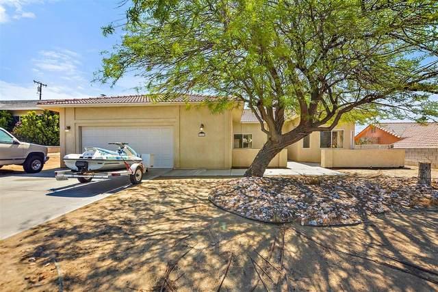 9802 San Simeon Drive, Desert Hot Springs, CA 92240 (#219061558) :: The Pratt Group
