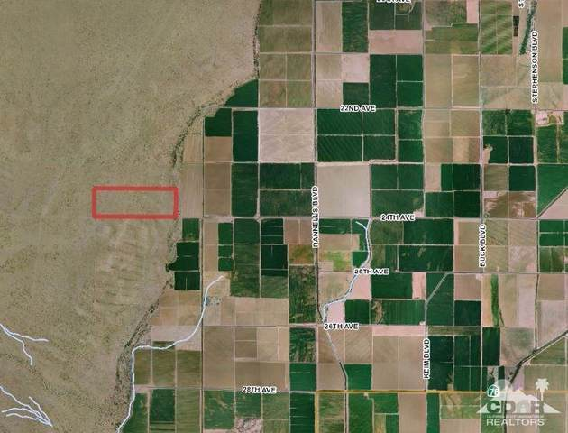 120 Acres, Blythe, CA 92225 (MLS #219061655) :: The Sandi Phillips Team