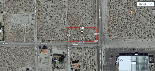 12 Acre 13th & Little Morongo, Desert Hot Springs, CA 92240 (MLS #219061722) :: Zwemmer Realty Group
