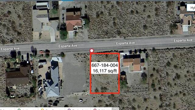 Vacant Lot Esparta. Ave, Desert Hot Springs, CA 92241 (#219061773) :: The Pratt Group