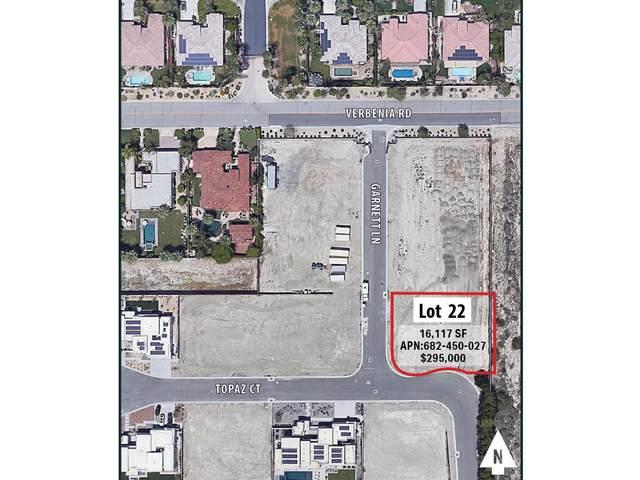 022 Garnett Court, Rancho Mirage, CA 92270 (MLS #219061921) :: The John Jay Group - Bennion Deville Homes
