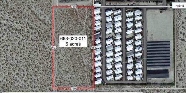 5 Acres S Of Pierson, Desert Hot Springs, CA 92241 (MLS #219063618) :: Hacienda Agency Inc