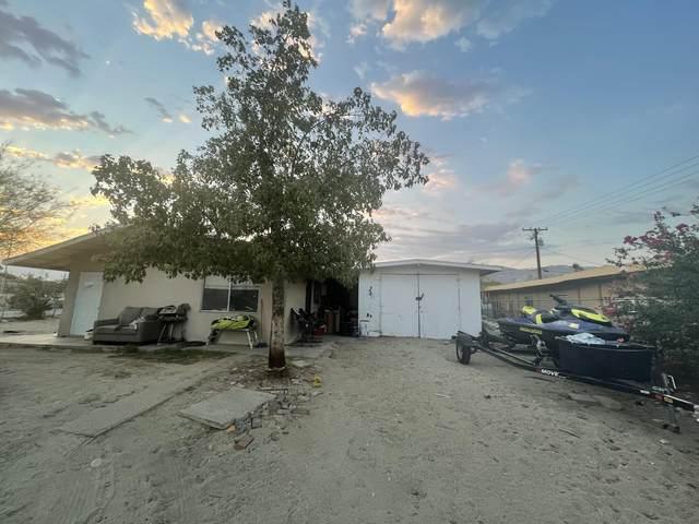66116 Flora Avenue, Desert Hot Springs, CA 92240 (MLS #219063905) :: The Jelmberg Team
